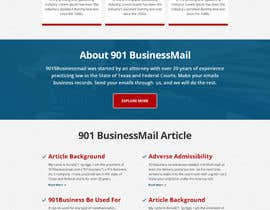 #7 for Design a Website Mockup for Certified Email Service by yasirmehmood490