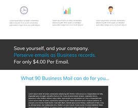#5 for Design a Website Mockup for Certified Email Service by adefton