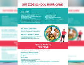 #7 cho Design a Flyer For Starting a business as Out of School Hours Carer (OSHC) - babysitter bởi ayanchy2167