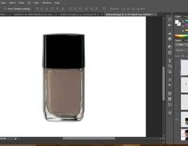 #3 for Nail polish bottle Graphic Design by fesiiqbal