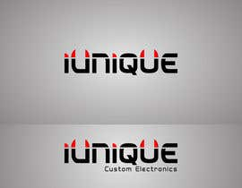 #18 for Design a Logo for online custom computer store named iUnique Custom Electronics by VaibhavPuranik