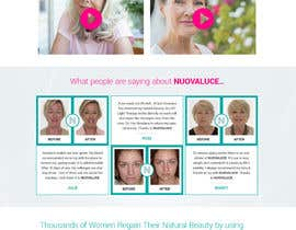 #31 for MODERN AND BEAUTIFUL LANDING PAGE NEEDED FOR BEAUTY COMPANY *URGENT* by nsrn7