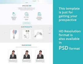 #39 for MODERN AND BEAUTIFUL LANDING PAGE NEEDED FOR BEAUTY COMPANY *URGENT* by adsingh13