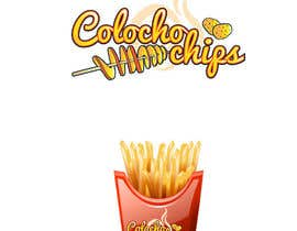 #4 for Logo For Potato Curl Fries Small Shop by genonalkat