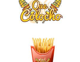#24 for Logo For Potato Curl Fries Small Shop by genonalkat