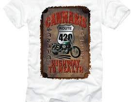 #49 untuk T-shirt design oleh DjIloveDESIGN