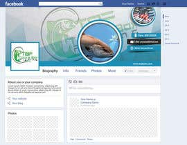 #60 for Design a Facebook Banner For A Fishing Shop by jlangarita