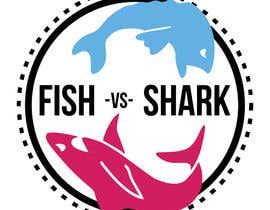 #6 for Fish vs Shark Icon/Logo by Uwxavier