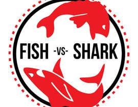 #13 for Fish vs Shark Icon/Logo by Uwxavier