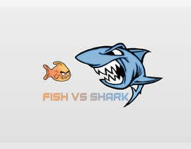 #10 for Fish vs Shark Icon/Logo by achrafboukili1