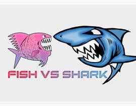 #22 for Fish vs Shark Icon/Logo by achrafboukili1