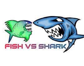 #25 for Fish vs Shark Icon/Logo by achrafboukili1