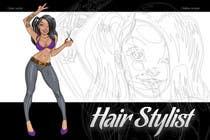 "Graphic Design Intrarea #19 pentru concursul ""Graphic Design for Hair Stylist"""