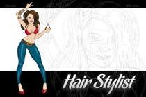 "Graphic Design Intrarea #22 pentru concursul ""Graphic Design for Hair Stylist"""
