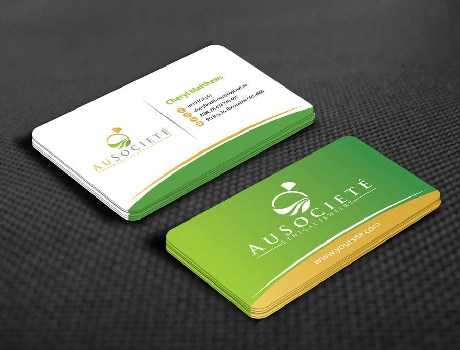 Entry #10 by mamun313 for Design some Business Cards for Luxury Eco ...