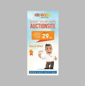 #7 for Create design for roll up banner 100x200 1.006 x 2.066 mm by rakib9008