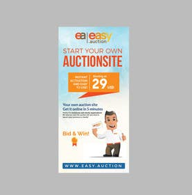 #8 for Create design for roll up banner 100x200 1.006 x 2.066 mm by rakib9008