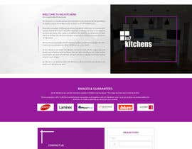 #35 for Design a Website Mockup for Kitchen Business by ByteZappers