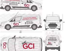 #5 for I need some Graphic Design to be displayed on my commercial van by nkcaleb