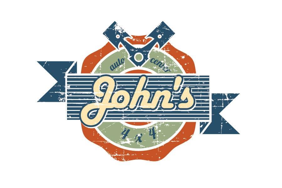 Inscrição nº 40 do Concurso para Logo Design for John's 4x4 Auto Center
