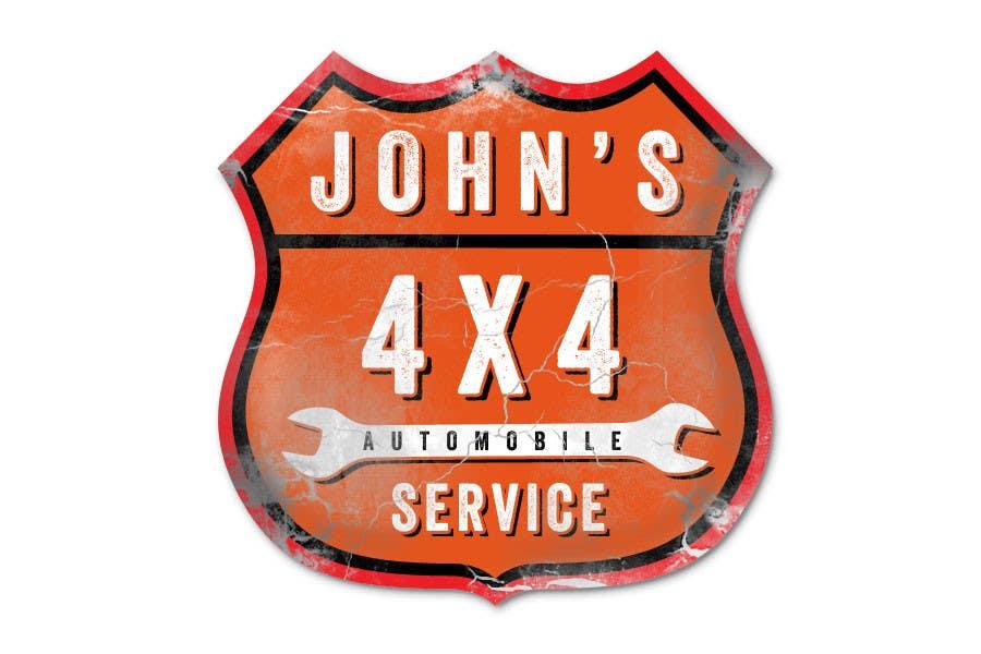 Inscrição nº 83 do Concurso para Logo Design for John's 4x4 Auto Center