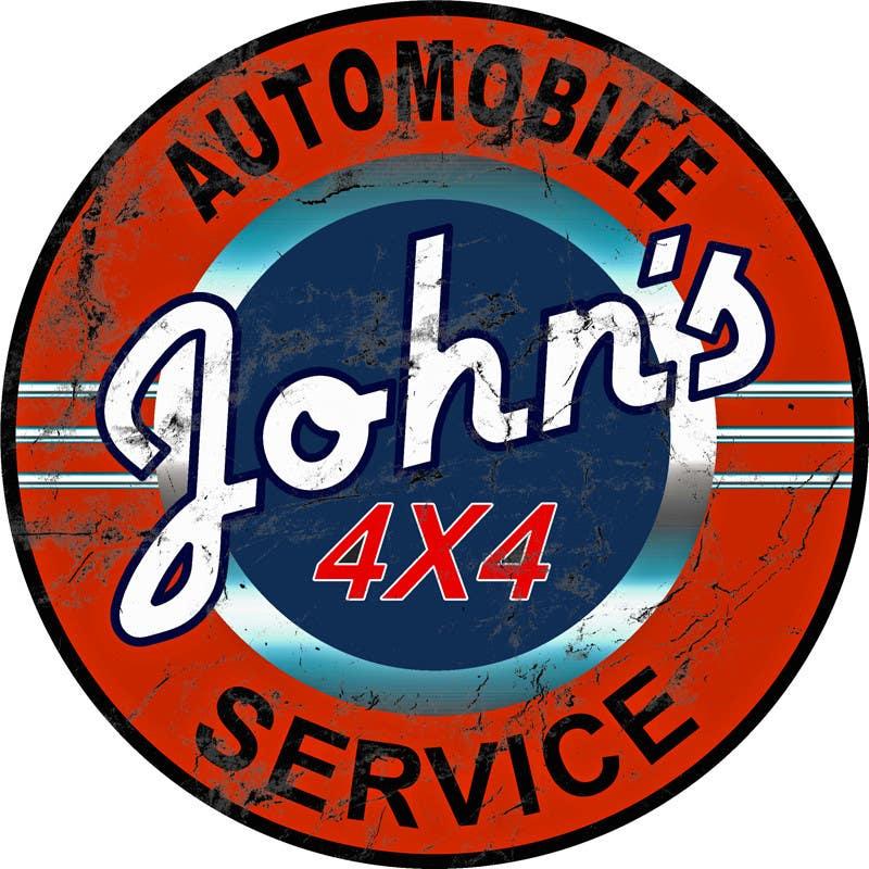 Inscrição nº 55 do Concurso para Logo Design for John's 4x4 Auto Center
