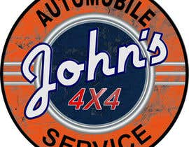 #111 для Logo Design for John's 4x4 Auto Center от PCRepairamedics