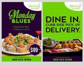 #3 for Design  menu signs (basic) by jhess31