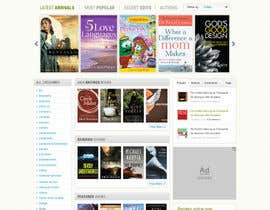 #34 cho Christian Reading Website Home Page Design bởi iNoesis
