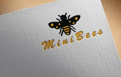 #68 for Design a Logo - The Hardworking Bee by Bigboss29
