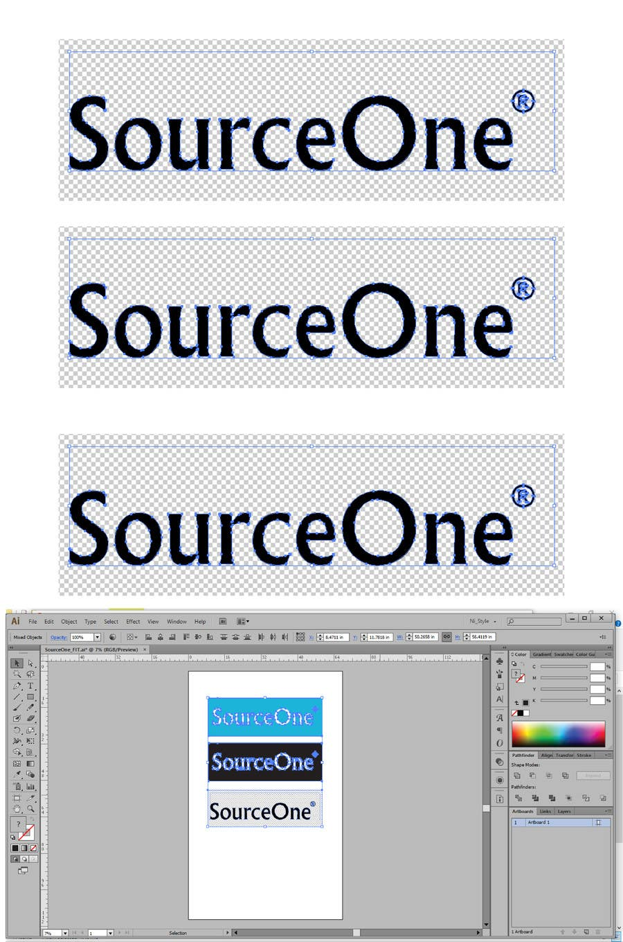 Contest Entry #50 for Design a Logo for SourceOne