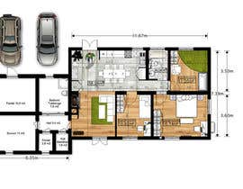 #23 for Update floor plan in existing family home by gumenka