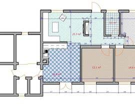 #22 for Update floor plan in existing family home by bekadanelishvili