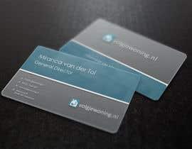 #37 for Ontwerp enkele Visitekaartjes for internet business volgjewoning.nl af loupesko