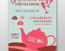 #22 for Design a Poster for a High Tea cruise on a Paddle Steamer by ofezaha