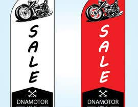 #6 for Motorcycle shop swooper banner design by GalibAzad