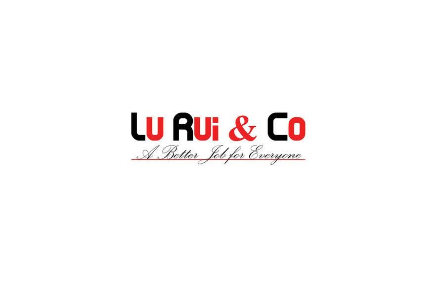 Inscrição nº                                         19                                      do Concurso para                                         Logo Design for Lu Rui & Co: A Better Job for Everyone