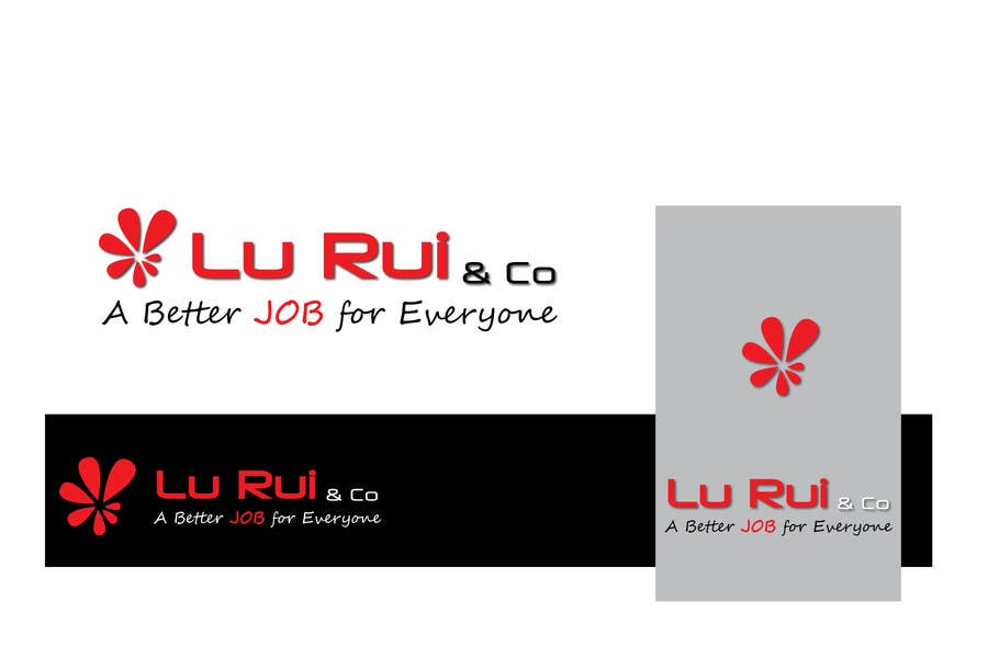 Konkurrenceindlæg #                                        150                                      for                                         Logo Design for Lu Rui & Co: A Better Job for Everyone