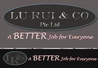 Graphic Design Inscrição do Concurso Nº46 para Logo Design for Lu Rui & Co: A Better Job for Everyone