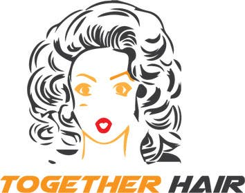 #67 for Together Hair needs a logo by Kamrulhasan98k