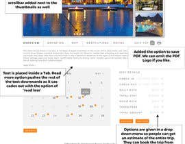 #9 for Design a Hotel Detail View Page by sameenhussain