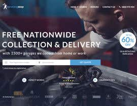 #271 for Landing page for car servicing company - Web design by janakgfxdesign