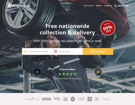 #107 for Landing page for car servicing company - Web design by denitsadimitrova