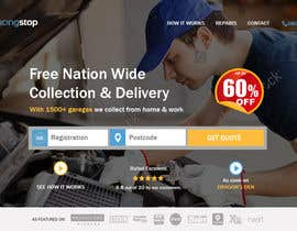 #263 for Landing page for car servicing company - Web design by raandesigns
