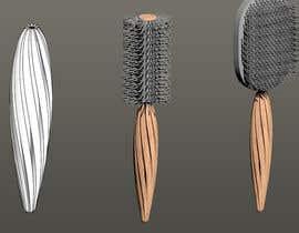 #18 for Design a Hair Brush Handle by maxjns