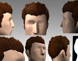 #8 for 3D Modelling of Hairstyles by Mragheb