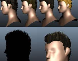 #15 for 3D Modelling of Hairstyles by Mragheb