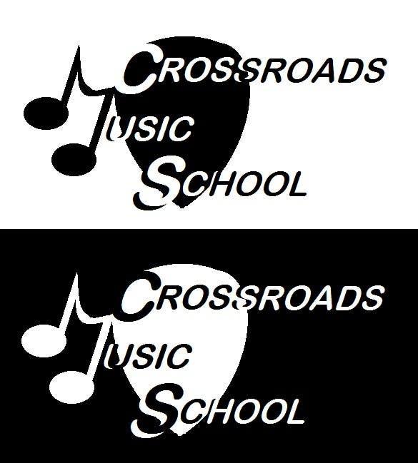 Konkurrenceindlæg #                                        98                                      for                                         Logo Design for Crossroads Music School