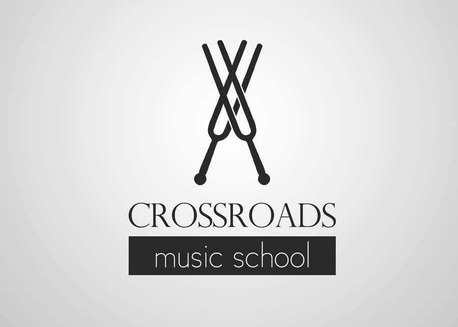 Konkurrenceindlæg #                                        55                                      for                                         Logo Design for Crossroads Music School