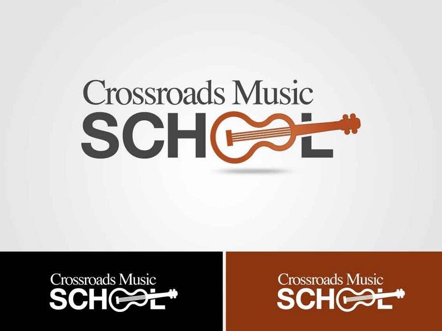 Konkurrenceindlæg #                                        11                                      for                                         Logo Design for Crossroads Music School